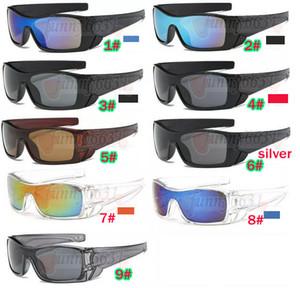 los hombres de verano de conducción gafas de sol Dazzle lentes de color de los deportes de las mujeres Gafas gafas de cristal de bicicletas gafas de conducción playa 9colors liberan la nave