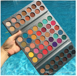Makeup Eyeshadow Gorgeous Me Tray 63 Colors Make up Eye Shadow Palette Glitter Eyeshadow Popular Brown and Earth Color Beauty Glazed