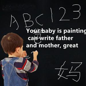 DIY Accueil tableau noir tableau blanc autocollant enfant réinscriptible enseignement Graffiti vert Conseil autocollant auto-adhésif amovible Wall Sticker Wall Film