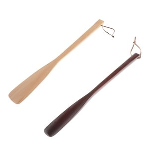 40cm Shoehorn Wooden Shoehorn,Very Stable,Comfortable Shoe Dressing Aid for Men Women