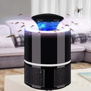 2018 New Smart LED UV Electric Mosquito Killer Lamp USB Charge Noiseless Black