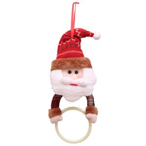 New Year Christmas Pendant Decoration Cloth Christmas Gift Hanging Ornaments Home Kitchen Towel Hanging Xmas Party Supplies