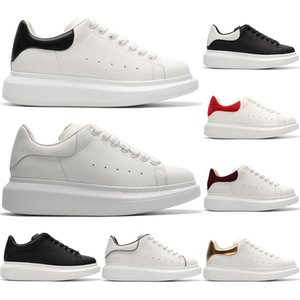Novo Designer de Moda Sapatos Casuais de Couro Esporte Conforto Bonita Menina Wome Preto Branco Mens sapatos de Skate sapatilhas Partido Plataforma Tamanho 36-44