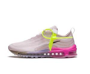 De haute qualité Serena Williams x 97 Reine OFF Chaussures Hommes Casaul 97 OG Rainbow Rose Dégradé Violet Jaune Chaussures De Course