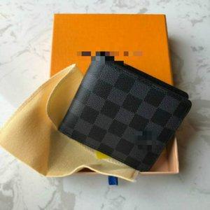 2020 Men's designers wallets purses zippy wallet mens short wallets card holder men short folded purses Without box