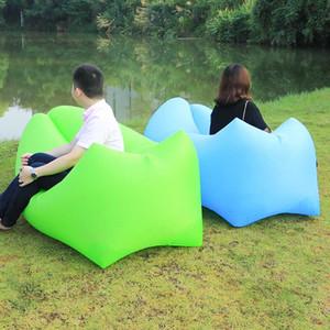 2019 Novo Design Mat Camping sofá preguiçoso saco Sofá inflável Beach Bed Salão preguiçoso Bag colchão cama que dorme Air Lounger