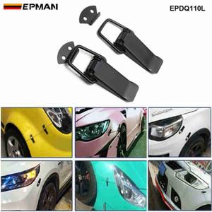 EPMAN для JDM SPORT Universal Clip Blockable Toggle Chinkener Быстрые релиз крепления передних задних бамперов блокировки EPDQ110L