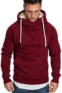 Dividir Corset Joint Mens Cardigan Sportswear capuz Sports Academia longa com capuz Mens Escolha Moletons Com Sleeve Zipper múltipla Hoodi Fdjx