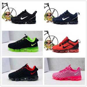 nike air max airmax vapormax 2019 bebê criança KPU Knitting VM Crianças portáteis Running Shoes Crianças almofada Sports Shoes Sneakers Rapazes Raparigas Treinamento tamanho 28-35
