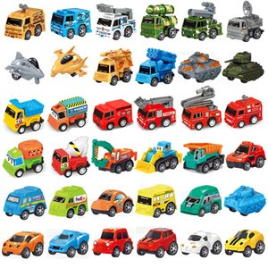 Children Toys Back Car Truck Models wholesale baby children's mini toy car simulation car model educational toys