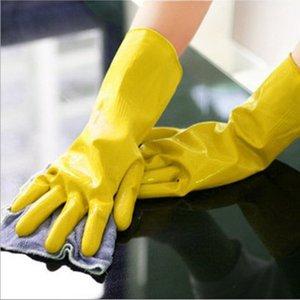 Eldiven Bulaşık Yıkama Eldiven Kauçuk Ev işi Eldivenler Lateks eldiven Uzun Mutfak Yıkama Tabaklar eldiveni Çamaşır eldivenleri Temizleme