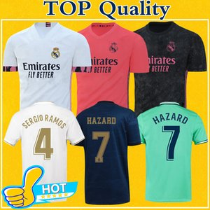 Real Madrid Jerseys 2021 Soccer Jersey PERIGO maillot de pé SERGIO RAMOS BENZEMA MARCELO CASEMIRO camiseta 20 21 Futebol shirt Fardas