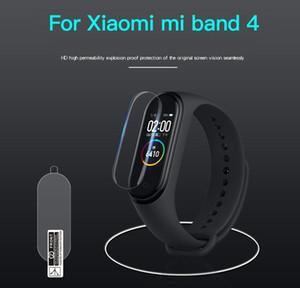 شاشة لينة حامي للحصول على XIAOMI مي باند 5 ساعة ذكية Miband 4 رقيقة جدا المضادة للخدش واقية السينمائي (لا الزجاج المقسى