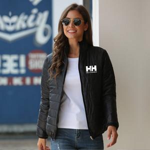 2019 HH Womens Ceket Standı Yaka yeni ince sıcak ve su geçirmez uzun bölüm ince Aiton kaz rüzgar geçirmez ceket erkek kış aşağı