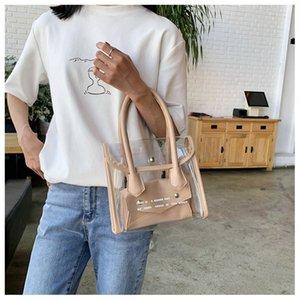 Designer Borse borsa della borsa della gelatina Cina Borsa di fabbrica di design di lusso chiare le donne trasparenti 2020 borsa del progettista