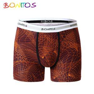 Bonitos Top Brand Unterhose Männer-Unterwäsche-Boxer Shorts Cotton Men Boxer feste weiche Unterhose-Unterwäsche Cueca Boxermens
