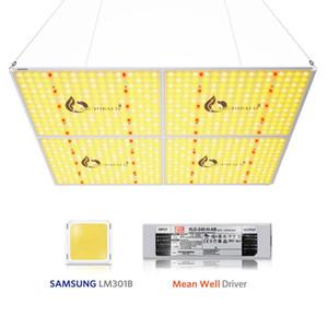 Luz de crecimiento de la planta LED 872pcs Chip LED CHIP Full Spectrum Crecimiento Light 3000K 3500K 5000K 760nm 450W Hydroponic Indoor Plant Tent Light AR4000