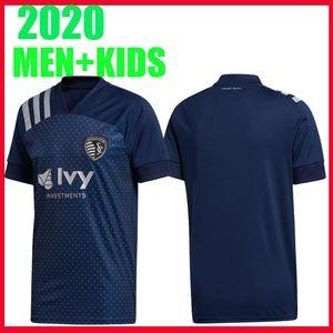 2020 Sporting Kansas City Fútbol MLS 2021 PULIDO 9 Busio 13 RUSSELL 7 GERSO 12 15 Un poco camisetas de Gutiérrez calidad de Tailandia