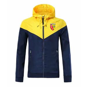 2020 RC объектив футбол молния ветровка с длинным рукавом куртка пальто зимние виды спорта футбол ветровка толстовка куртка спортивная мужская куртки