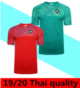 2020 المغرب الأوروبي لكرة القدم بالقميص 19/20 مايوه دي القدم ZIYECH BOUTAIB Camiseta دي فوتبول بوصوفة EL AHMADI قميص كرة القدم