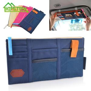 HIPSTEEN Auto Sonnenblende Erhalten Tasche Kofferraum Organizer Aufbewahrungstasche Box Mehrzweckwerkzeuge Organizer Für Tankkarte Handy