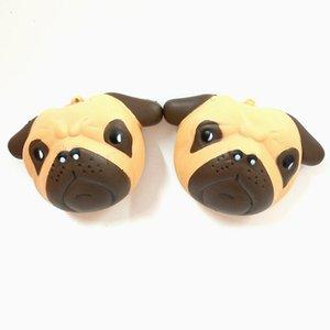 Slow Rebound Pu Cute Panda Expression Toy Simulation 10cm Animal Bread Model Toys Decompression Toys