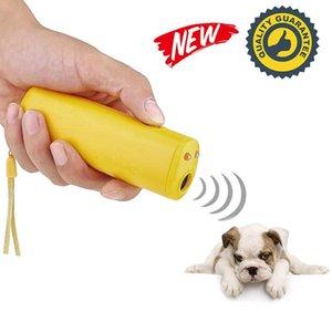 1 개 안티 짖는 중지 껍질 초음파 애완 동물 개 펠러 훈련 장치 트레이너와 함께 LED 무료 배송 높은 품질 3