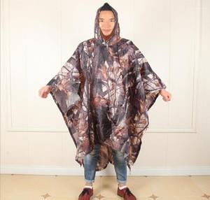 Camouflage Raincoat Mens Designer Imperméables Outdoor Randonnée Alpinisme Corta Vento Rain Jacket Multi Function Trine