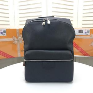 Bolso pequeño negro, combinación de lona y cuero, retranscribe el clásico diseño de tendencia del campus. Tirantes ajustables