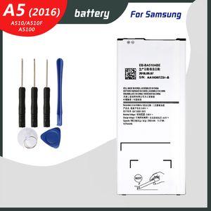 Original Akku für Samsung Galaxy A5 2016 Ausgabe A510 A510F A5100 2900mAh EB-BA510ABE Telefon Ersatzbatterien