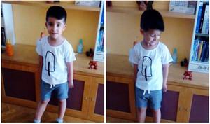 T-shirt do verão Macio Crianças Roupas de Bebê Padrão de Sorvete Casual Tops da Menina T-shirts para Meninos Roupas de Bebê Menino