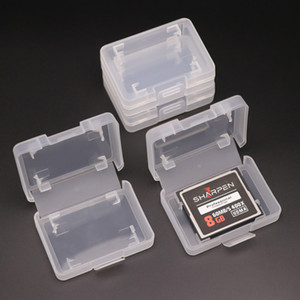 18mm SD card case Plastic box Transparent Standard Holder white box pp Storage Case for TF micro SD XD card