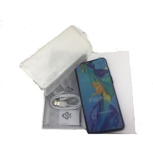 """Barato goophone p30 pro 6.5 """"android 9.0 quad câmera show 8gb 128gb mostrar 4g hd câmera 3G wcdma celular"""