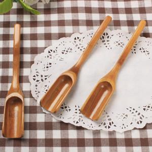 chá de bambu colher colher de café ferramenta chá colher ferramentas úteis Coffee Tea Leaves Colher Atacado LX9053