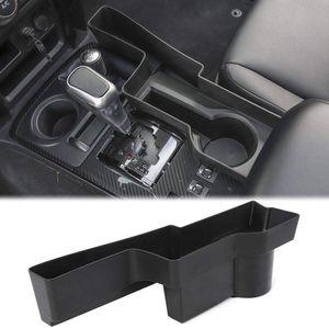 ABS Negro y cambio de marchas Caja de almacenamiento Caja de cambios manual Organizador para Toyota 4Runner 2010+ coche accesorios de estilo