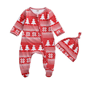 잠옷 세트 아기 소년 소녀 남여 잠옷 잠옷 선물을 일치 아기의 장난 꾸러기 크리스마스 가족