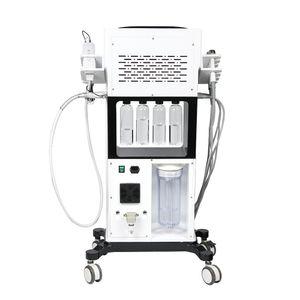 Stationary Hydra Dermabrasion Microneedle BIO Skin Rejuvenation Beauty Machine With Six Treatment Handles Optional Case Colour