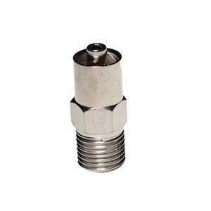 locking head luer lock adapter screw end G1 8 optional for automatic dispensing valve