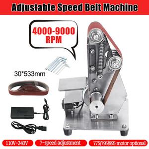 صقل حزام ديي مصغر Sander صقل آلة طحن حكاكة الأدوات Set Shragssive Sander Sanding Belt