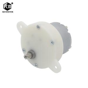10PCS 12 v 10 24 v Motore da CC Para O Brinquedo de Baixa Velocidade rpm Orientada Engrenagem Do Motor De Plástico Engrenagem Da Caixa de Vel