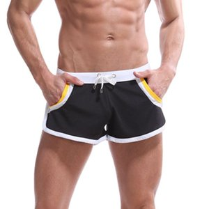 Melhores homens do esporte preço Marca saúde Arrefecer calças curtas Homens academias de fitness Shorts Masculino Jogger treino Praia breechcloth pugilistas curtas