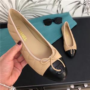 HOT 2020 Frühling neueste Ankunftsmarkenfrauen Schuhe schwarz weiß echtes Leder Art und Weise der beiläufigen Schuhe Luxuxqualitäts Frauenebenen SN01