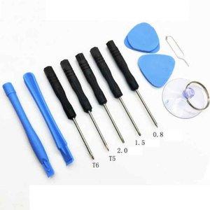 11Pcs Set Mobile Phone Repair Tools Kit Screwdriver Set Opening Tools Disassemble Kit For Smart Mobile phone ZZA2107 1000Pcs