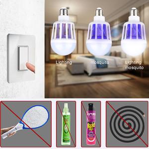 New Hot proteção ambiental de poupança de energia lâmpada LED assassino do mosquito para uso doméstico iluminação Bug lâmpada armadilha Zapper inseto repellen Anti
