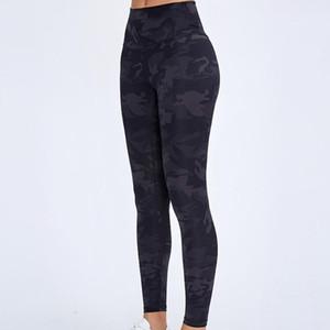 Cintura alta Yoga Calças para as Workout Exercício Gym Leggings Impresso Tummy Controle Yoga Legging Bootcut