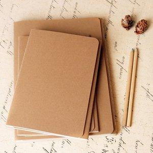 Großer Verkauf !!! Kraft-Notizbuch-Arbeitsmappe Tagebuch Notebook Soft-Rind Papier Jahrgang Heft Tagesnotizen Copy Car Line A08