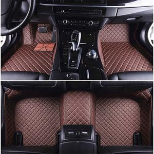 BMW 6 Serisi F12 F13 F06 Dönüştürülebilir GT 7 Serisi E38 E65 E66 F01 F04 730Li F02 G11 G12 için Zhihui Özel Deri Su geçirmez Araç Paspaslar