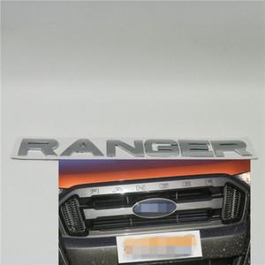 Para Ford Ranger parrilla del frente del logotipo del emblema de la compuerta trasera Placa de identificación Cartas 2012-2019