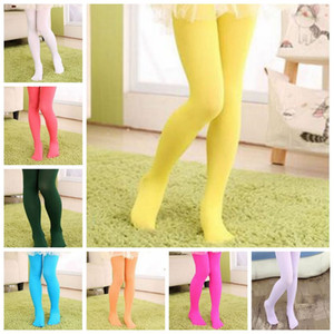 Fille Vêtements Velour Leggings Designer bébé Ballet Danse Collant bonbons Collants de couleur Skinny Pantalons simple Bas Pantalons Mode PY5395
