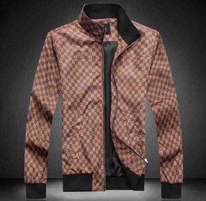 Hot Sale New Printed Medusa Jacket Jacket Autumn Men's Casual Jacket Sports Hoodie Long Sleeve Zipper Trench Coat Men's Round Neck